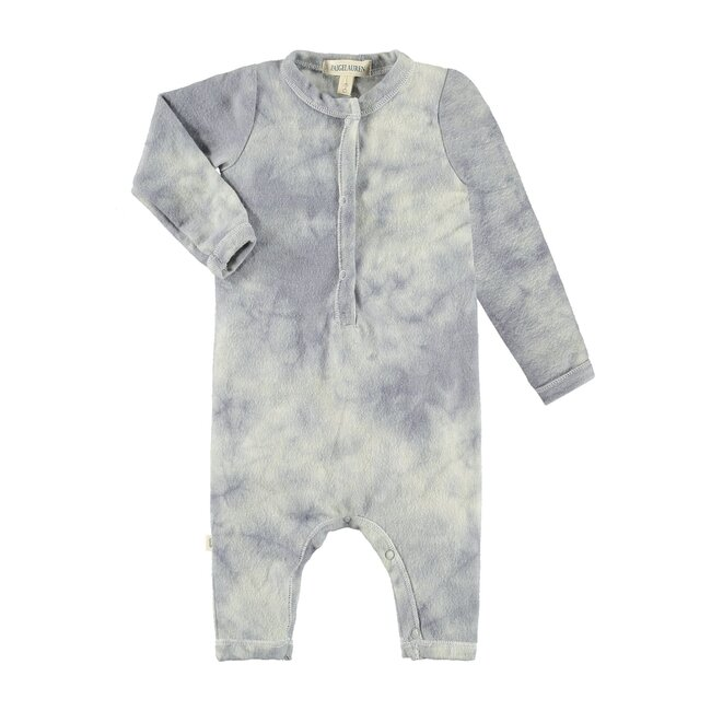 Wild Life Baby Coverall, Crystal Tie Dye