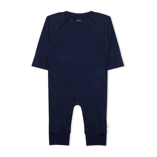 Babygrow, Navy Merino Wool