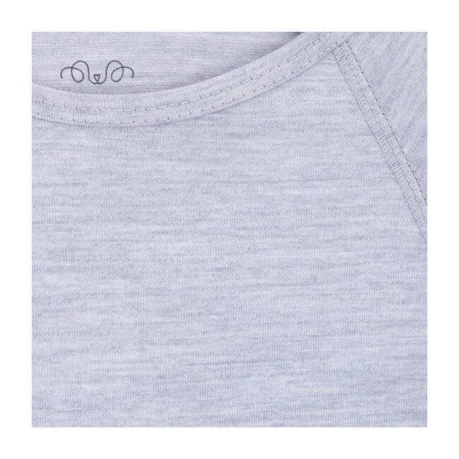 Long Sleeve Shirt, Grey Merino Wool