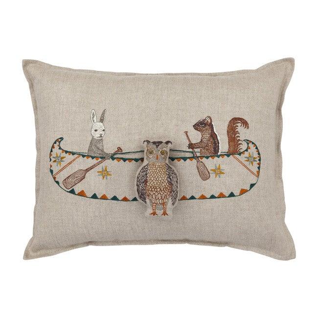 Friends Canoe Pocket Pillow