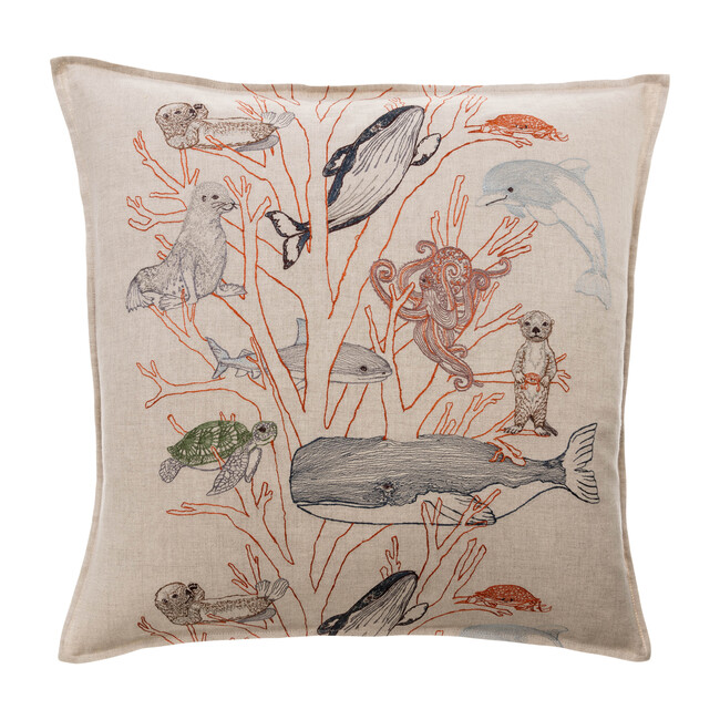 Coral Forest Pillow