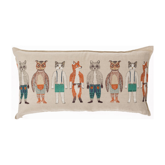 Pocket Dolls Lumbar Pillow
