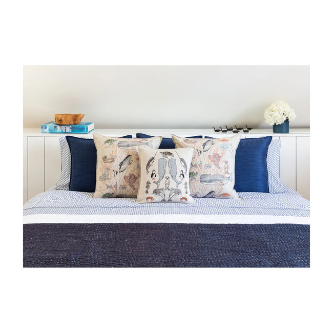 Sea Friends Pillow, Multi