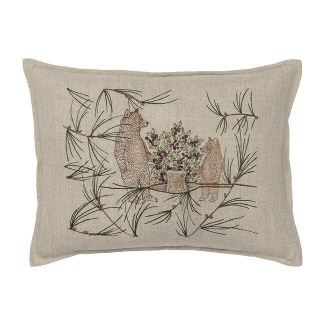 Briar Bears Pocket Pillow