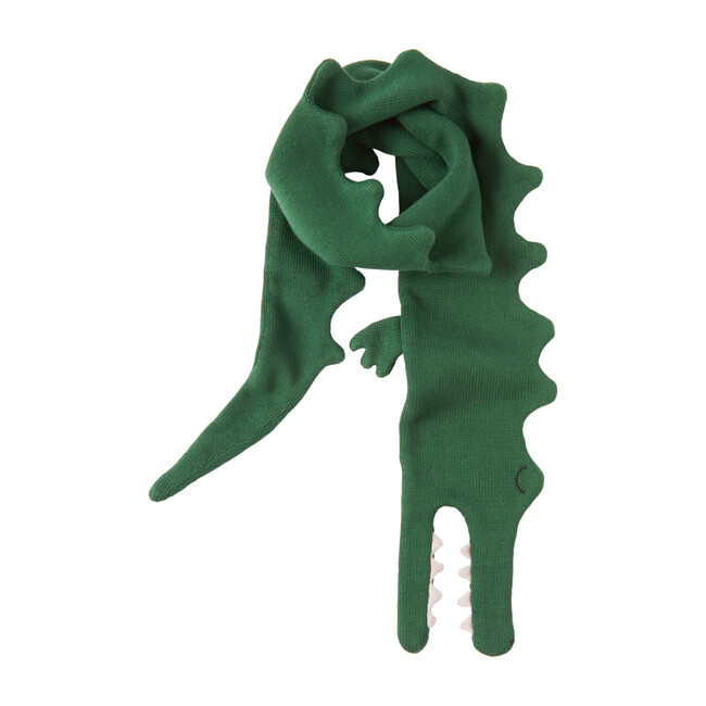 Alligator Knitted Scarf