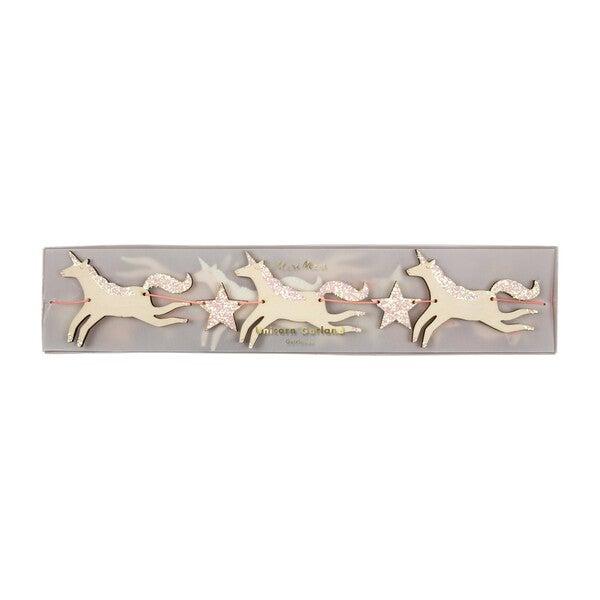 Wooden Unicorn Garland