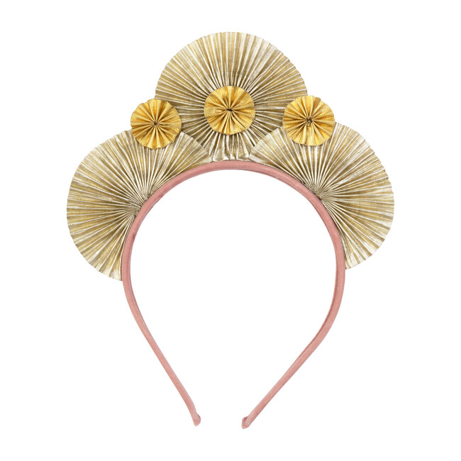 Metallic Fan Headband
