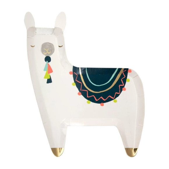 Llama Plates