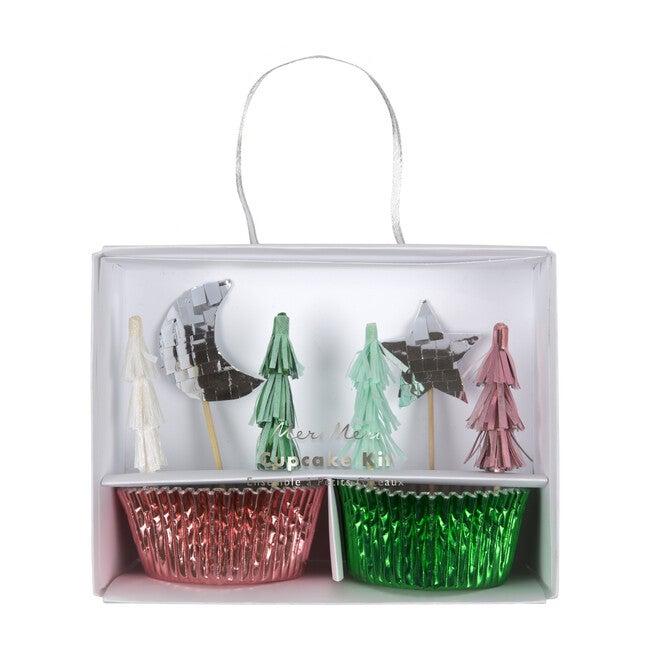 Festive Tree Cupcake Kit