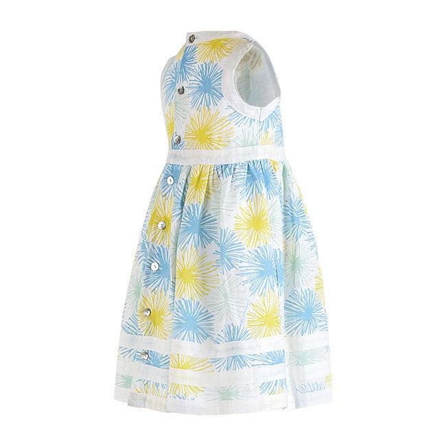 Pure Linen Fireworks Summer Dress