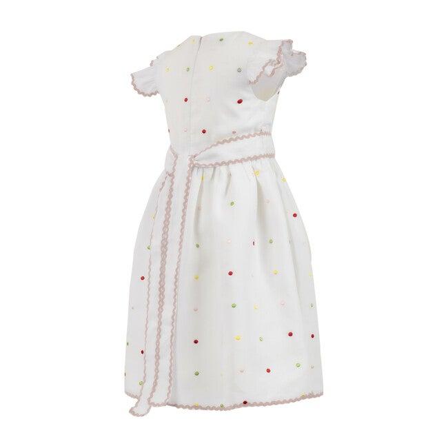 Confetti Belted Midi Dress