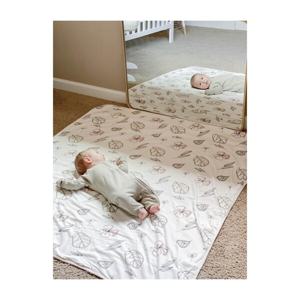 Nursery Blanket, Abstract Floral