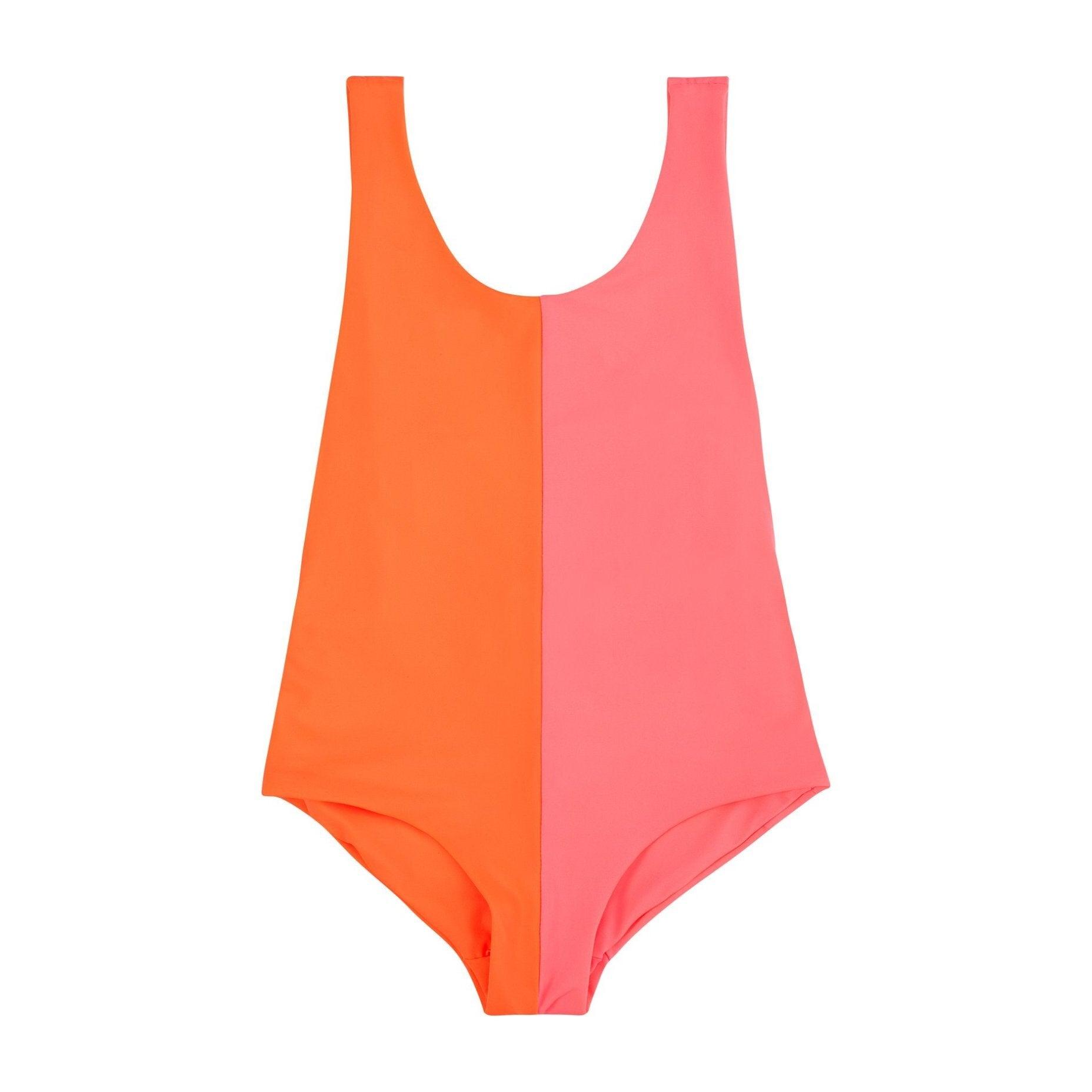 Isabelle One Piece, Orange Pink