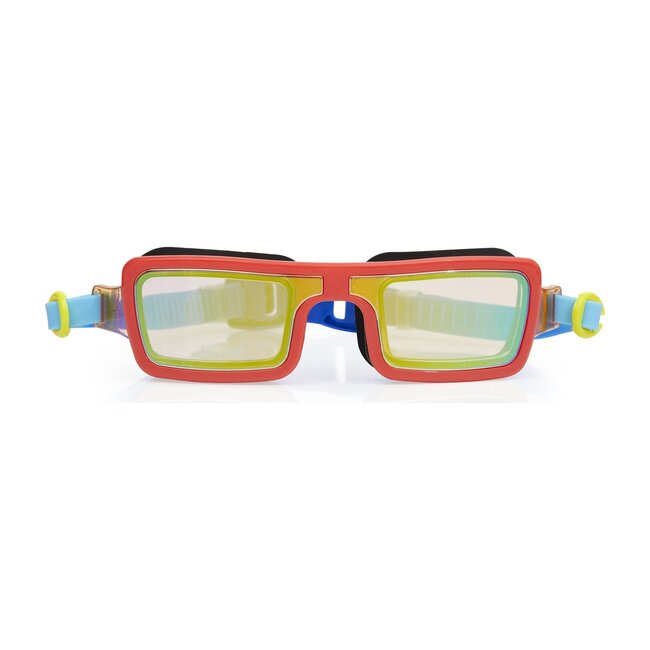 Electric 80's Goggles, Retro Red