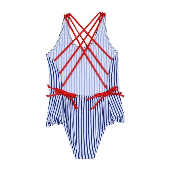 Chic Swimsuit, Marine Stripe