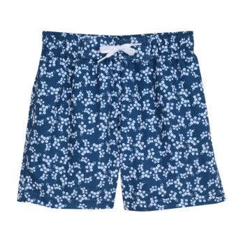 Swim Shorts, Ditsy Blues