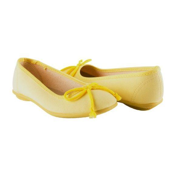Ballerina Slipper, Yellow