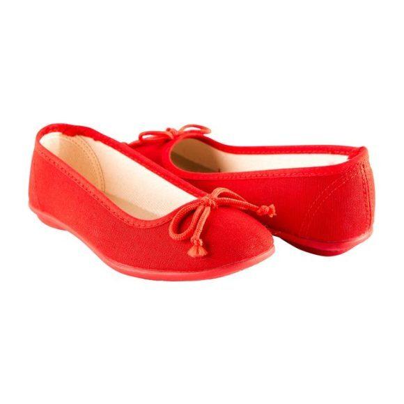 Ballerina Slipper, Red