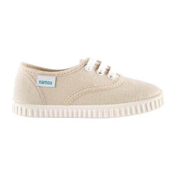 Lace Sneaker, Beige