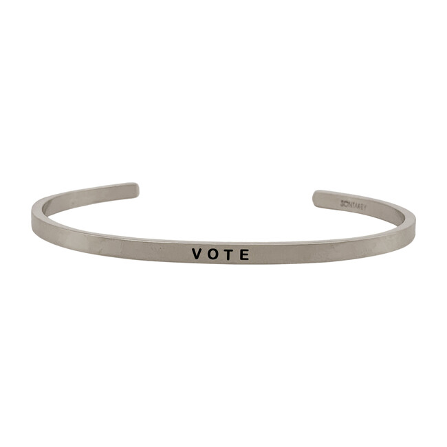*Exclusive* Women's Vote Bracelet, Silver