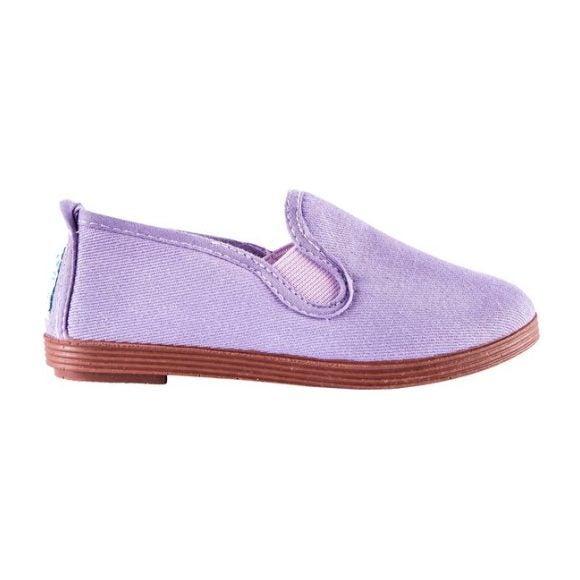 Canvas Slip-On, Purple