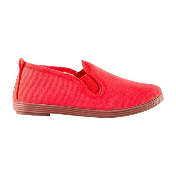 Canvas Slip-On, Red