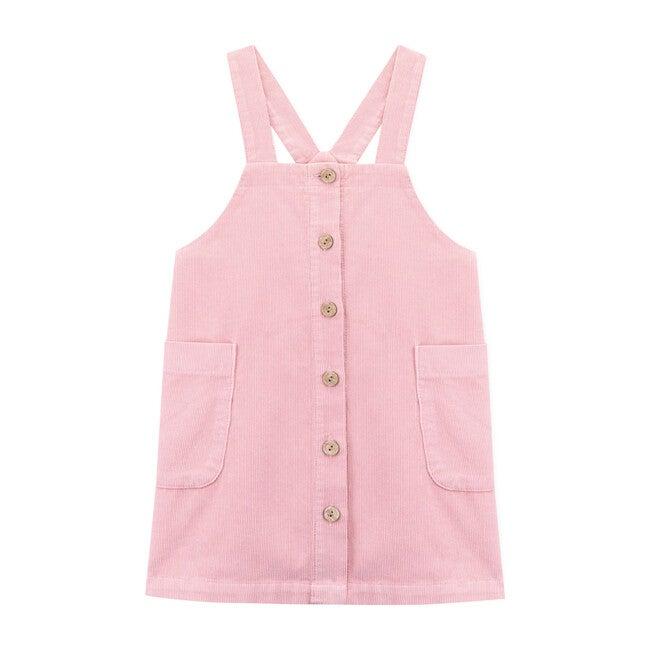 Su Pinafore Dress, Pink