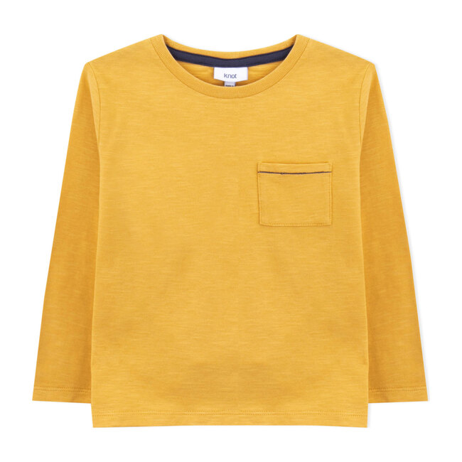 Hokusai T-Shirt, Bamboo Yellow