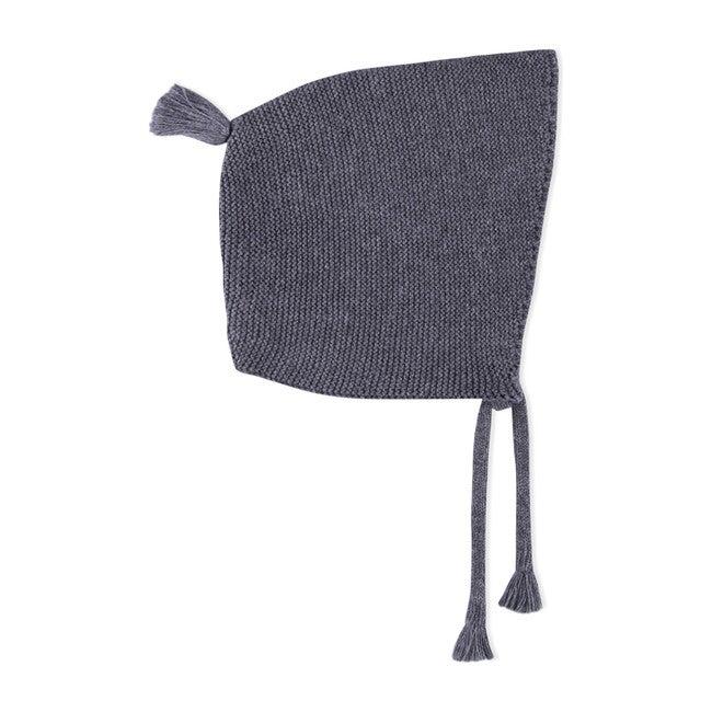 Etsuki Knitted Beanie, Pewter Grey Melange