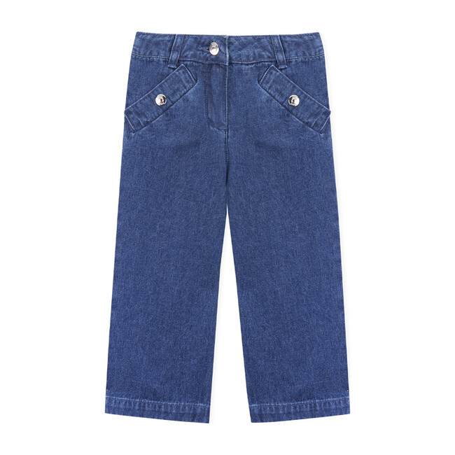 Nuriki Trousers, Medium Denim