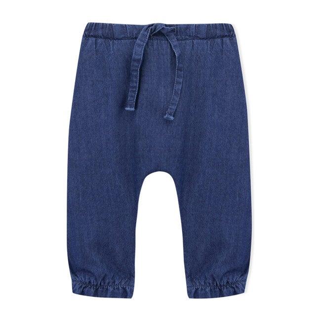 Waki Trousers, Medium Denim