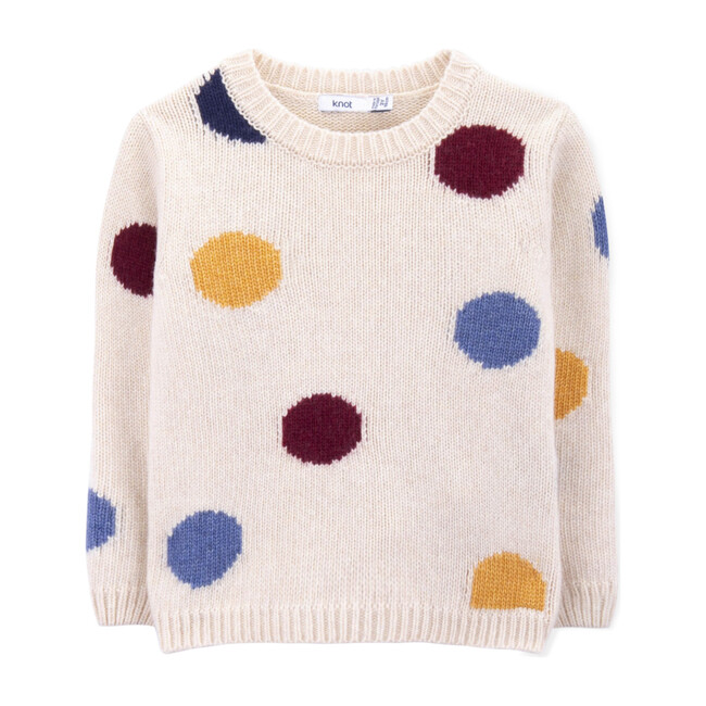 Dotto Knitted Sweater, Multi