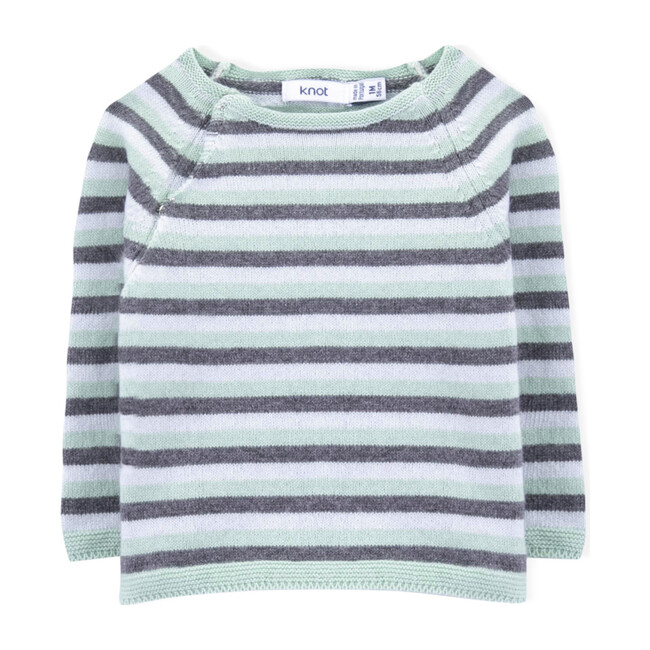 Narihito Knitted Sweater, Stripes
