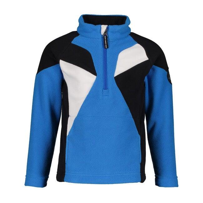 Jax Fleece Top, Blue Vibes