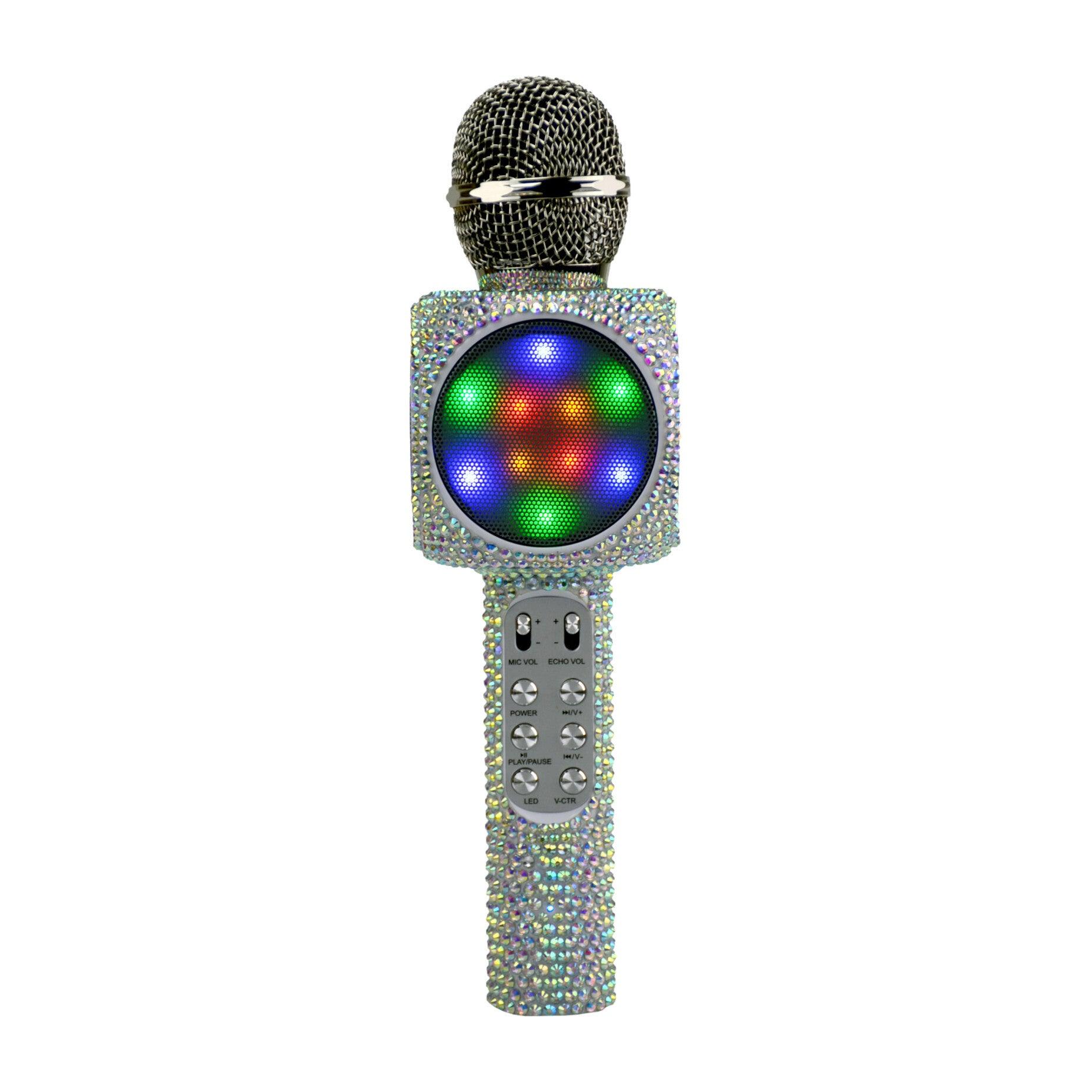 Sing-along Bling Bluetooth Karaoke Microphone, Iridescent
