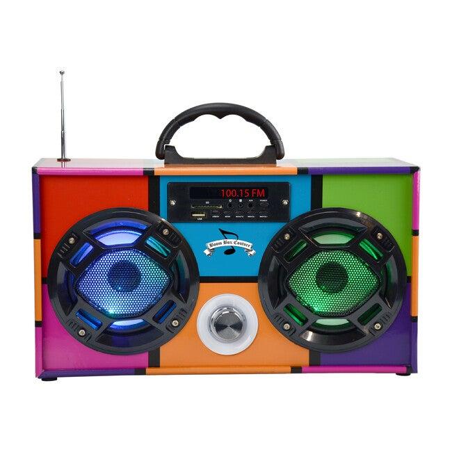 Bluetooth Mini Boom Box, Retro - Musical - 1