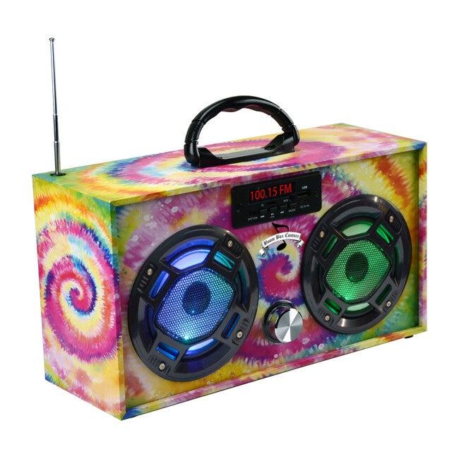 Bluetooth Mini Boom Box, Tye Dye