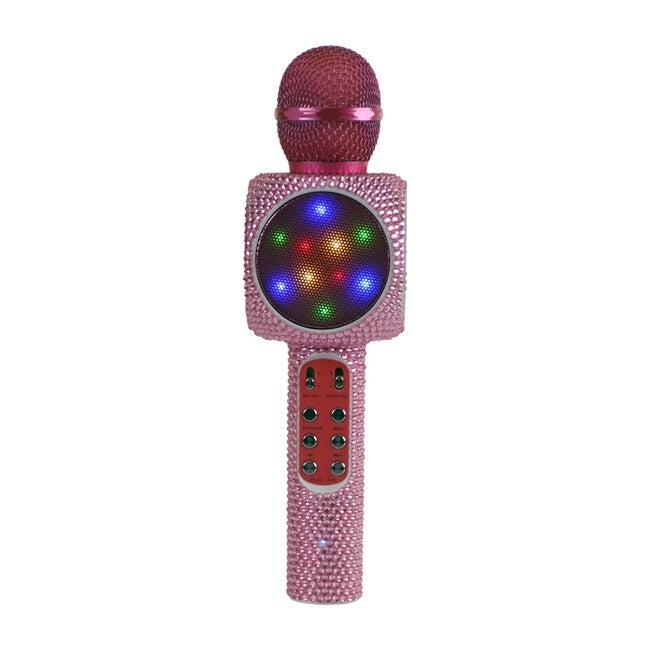 Sing-along Bling  Bluetooth Karaoke Microphone, Pink Bling - Musical - 0