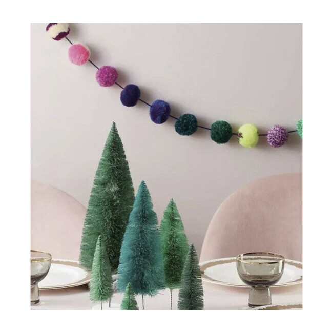 Pom Pom Garland, Rainbow