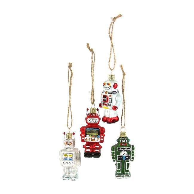 Tiny Robot Ornaments