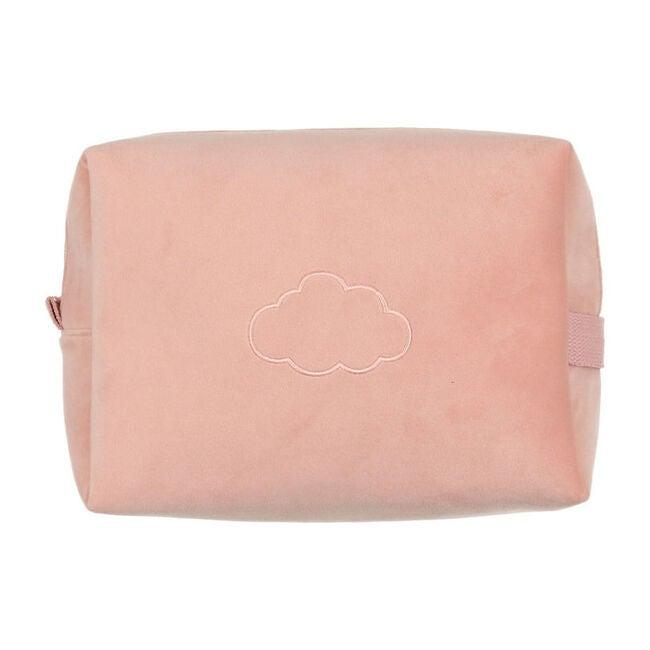 Velour Travel Case, Dusty Pink