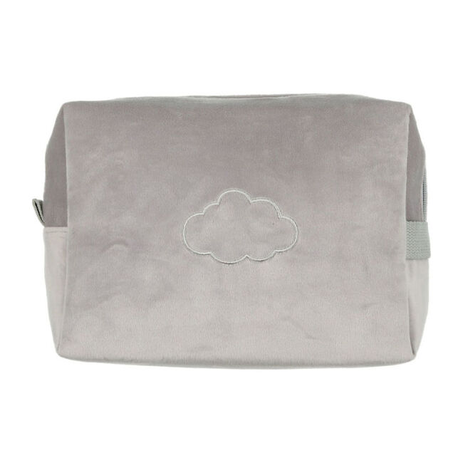 Velour Travel Case, Grey