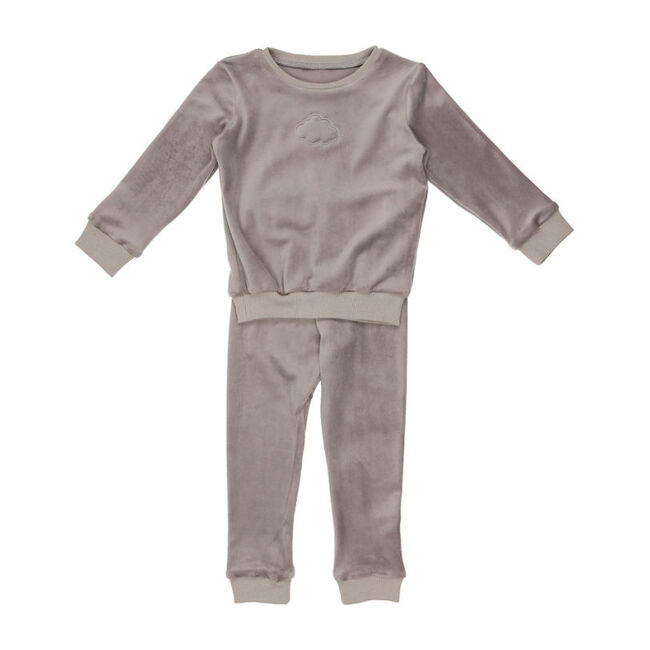 Velour Set, Grey