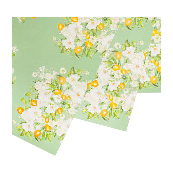 Blooming Wrapping Paper Trio