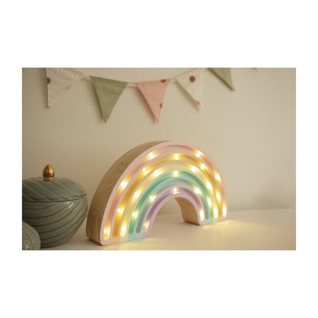 Rainbow Lamp, Pastel