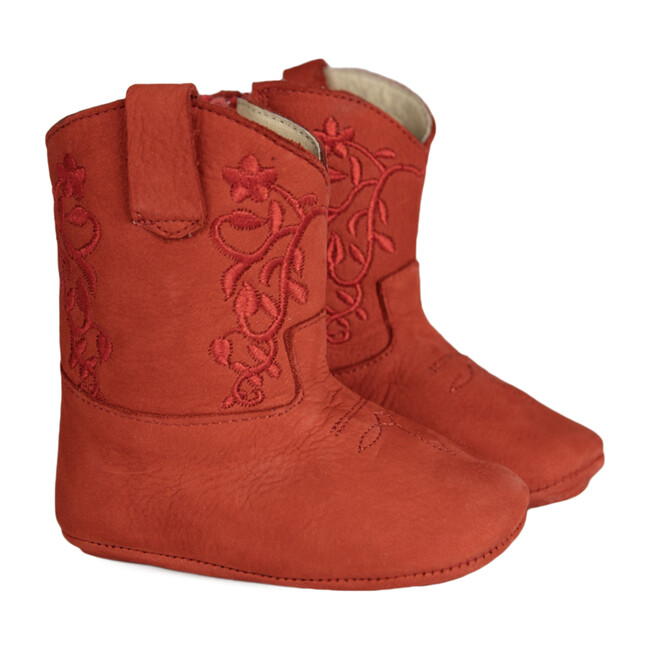 Bristol Boots, Red