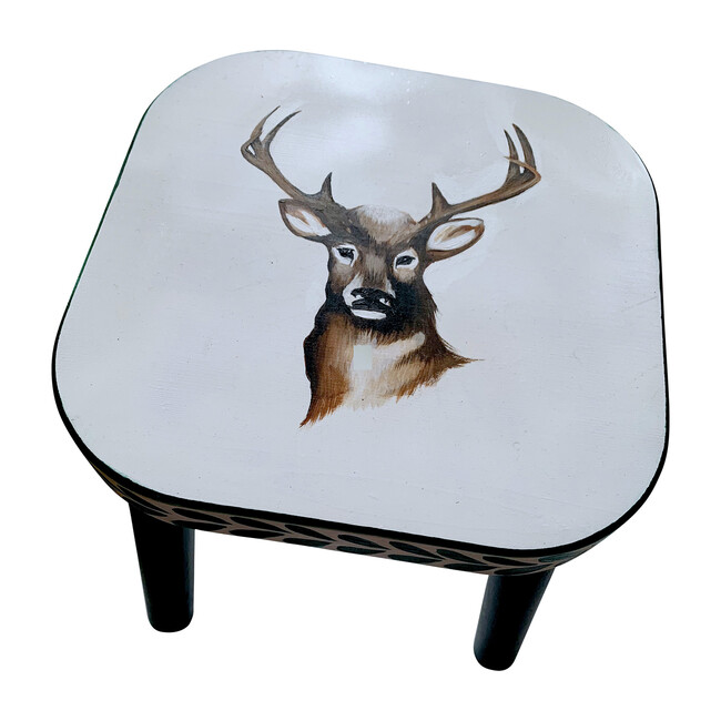 Billy the Buck Stool, Natural