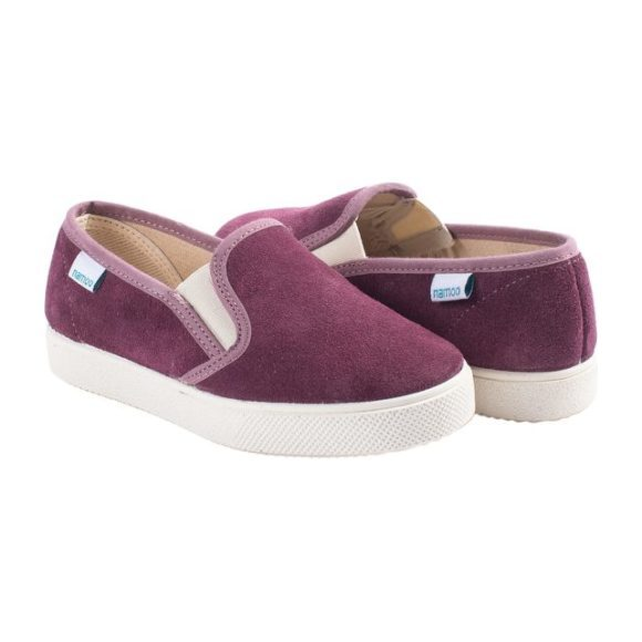 Suede Slip-On, Purple