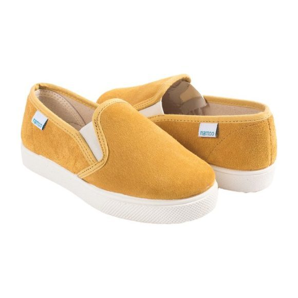Suede Slip-On, Yellow
