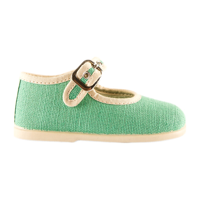 Linen Mary Jane, Green